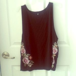 Soft & Sexy Floral Embroidered Tank